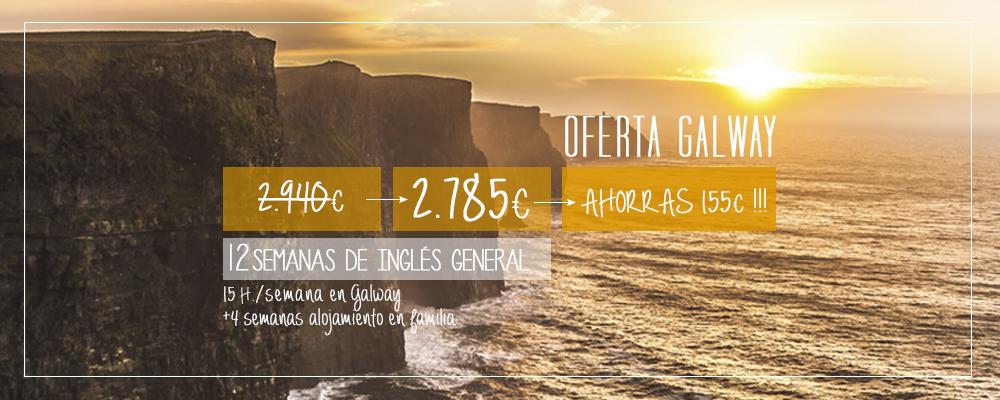 Oferta curso inglés Galway