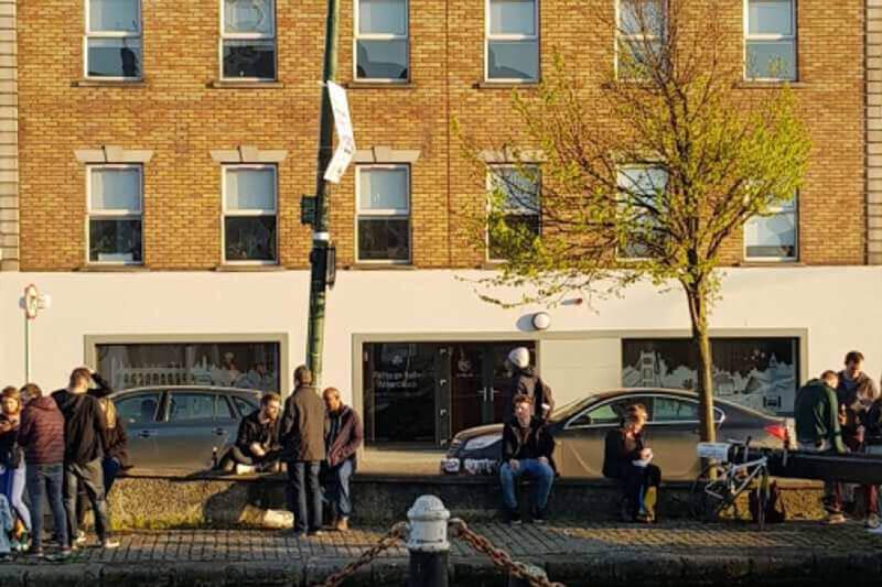 Academia inglés Dublín EC fachada