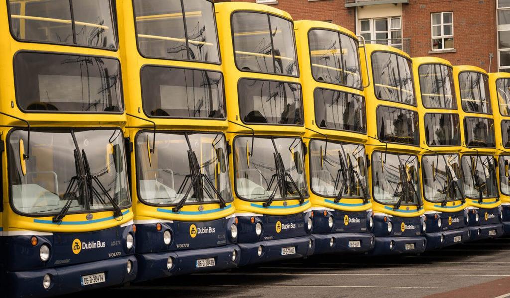 autobuses Irlanda