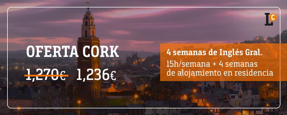 ofertas curso inglés Cork