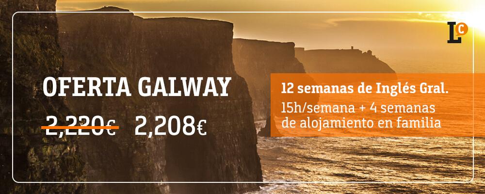ofertas curso inglés Galway