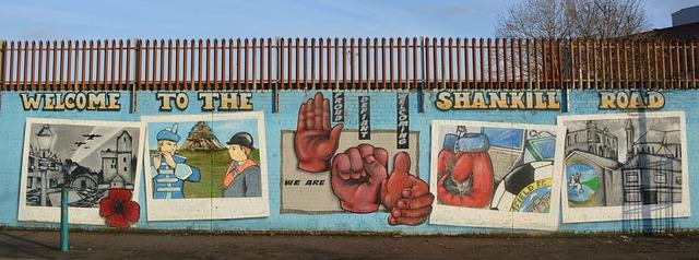 muro historico belfast